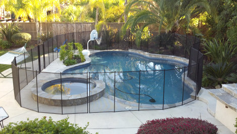 Pool Fence Isolation Barrier